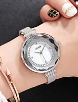 Недорогие -Жен. Нарядные часы / Наручные часы Китайский Новый дизайн / Повседневные часы / Имитация Алмазный сплав / Кожа Группа Мода / Элегантный