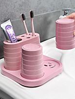 Недорогие -Стакан для зубных щеток Водонепроницаемый / Многофункциональный Модерн ABS 1pack Зубная щетка и аксессуары