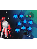 cheap -K1A Wired Game Controllers For Sony PS3 / Android / PC Game Controllers ABS 1pcs unit USB 2.0