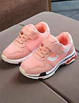 Недорогие -Девочки Обувь Тюль Весна Удобная обувь Кеды для на открытом воздухе Черный Серый Розовый