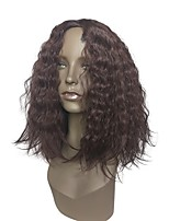 cheap -Wig Accessories / Synthetic Wig Wavy Layered Haircut / Middle Part Synthetic Hair Anime / Heat Resistant / Synthetic Burgundy Wig Women's Long Capless / Natural Hairline