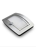 abordables -1pc LED Night Light Blanc Chaud Piles AA alimentées Capteur infrarouge Capteur de corps humain Pile