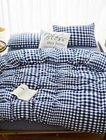 preiswerte -Bettbezug-Sets Geometrisch Polyester / Baumwolle 100% Baumwolle Reaktivdruck 4 Stück