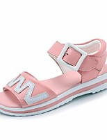 cheap -Girls' Shoes PU Summer Comfort Sandals for White / Pink