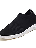 cheap -Men's Shoes Fabric Fall Comfort Loafers & Slip-Ons for Outdoor Black Gray Red
