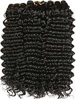 preiswerte -Malaysisches Haar Wellen Menschenhaar spinnt / Erweiterung / Echthaar Haarverlängerungen Menschliches Haar Webarten Schlussverkauf