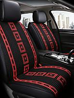 baratos -ODEER Almofadas para Assento Automotivo Capas de assento Preto / Vermelho Têxtil Comum for Universal Todos os Anos Todos os Modelos