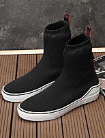 cheap -Men's Shoes Customized Materials Winter Comfort Loafers & Slip-Ons Black