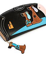cheap -Women's Bags PU Wallet Zipper Yellow / Coffee / Khaki