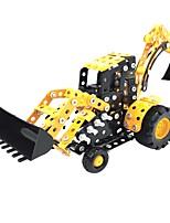 cheap -YIJIATOYS Building Blocks 314pcs Holiday / Vehicles / Fashion Construction Truck Set / Backhoe Loader / Dozer All Gift