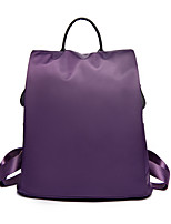 cheap -Women's Bags Oxford Cloth / Nylon Backpack Tiered for School / Outdoor Purple / Fuchsia / Wine