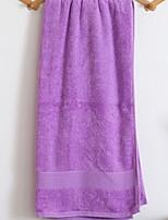 abordables -Qualité supérieure Serviette de bain, Couleur Pleine Mélangé polyester / coton 1 pcs