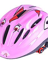 abordables -Casque de vélo 10 Aération CE Certification Équipement de Sécurité, Poids léger EPS Camping / Cyclisme - Enfant Vert / Bleu / Rose