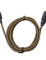 abordables -Câble Pour Nintendo DS / Nintendo 3DS / Nintendo 3DS New Cool Câble Métal 1pcs unité 3cm USB 2.0