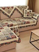 baratos -almofada do sofá Floral Impressão Reactiva Algodão / Poliéster Capas de Sofa