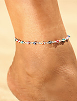 cheap -Anklet - Vintage, Bohemian, Tropical Gold / Silver Evil Eye For Gift / Going out