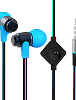 cheap -WHF-116 In Ear Wired Headphones Dynamic Copper Mobile Phone Earphone Stereo Headset