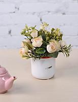 Недорогие -Искусственные Цветы 1 Филиал Ретро Розы Букеты на стол