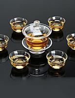 Недорогие -7 шт стекло Набор для чаепития Heatproof ,  8.3*9.5;5.5*3.3cm