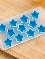 cheap -Bakeware tools Silica Gel Creative Kitchen Gadget For Ice / Cooking Utensils Stamper & Scraper 1pc