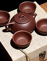 cheap -5pcs Porcelain Teapot Set Heatproof ,  12.6*5.2*6.5;6.5*6.5*3cm