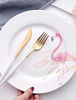 cheap -1 pc Porcelain Heatproof / Creative Dinner Plate, Dinnerware