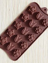 cheap -Kitchen Tools Silicon DIY Mold For Chocolate 1pc