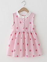 cheap -Toddler Girls' Fruit Sleeveless Dress