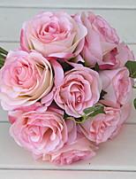 preiswerte -Künstliche Blumen 1 Ast Hochzeitsblumen Rosen Tisch-Blumen