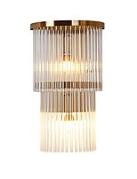 cheap -QIHengZhaoMing Crystal LED / Modern / Contemporary Wall Lamps & Sconces Living Room / Study Room / Office Metal Wall Light 110-120V /