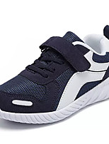Недорогие -Мальчики Обувь Тюль Осень Удобная обувь Кеды Беговая обувь для Черный / Красный / Тёмно-синий