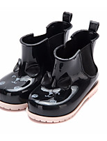 cheap -Girls' Shoes PVC Leather Spring & Summer Rain Boots Boots Walking Shoes Bowknot for Toddler Fuchsia / Red / Almond