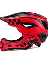 abordables -ROCKBROS Enfant Casque de vélo / BMX Casque 12 Aération Visière amovible ESP+PC Cyclisme / Vélo - Noir / Blanc / Noir / Rouge / Vert / noir.