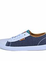 cheap -Men's Shoes Canvas Summer Comfort Sneakers Black / Gray / Blue
