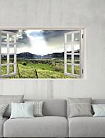 abordables -Autocollants muraux décoratifs / Autocollants de sol - Autocollants muraux 3D Paysage / A fleurs / Botanique Chambre à coucher / Chambre