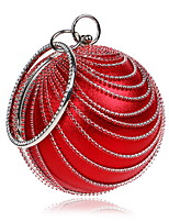 cheap -Women's Bags Terylene Evening Bag Crystals for Wedding / Event / Party Silver / Red / Rainbow