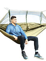 abordables -Hamac de Camping avec Filet à Moustique Extérieur Léger Nylon pour Randonnée / Camping / Voyage - 2 personne Bleu de minuit / Gris / Vert