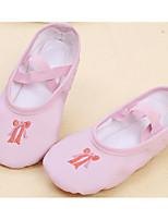 abordables -Fille Chaussures de Ballet Polyuréthane Plate Utilisation Talon Plat Personnalisables Chaussures de danse Rose / Chair