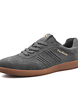 cheap -Men's Shoes Cashmere Spring / Fall Light Soles Sneakers Black / Gray / Burgundy