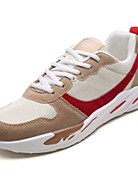economico -Per uomo Scarpe Tulle / PU (Poliuretano) Estate Comoda Sneakers Beige / Grigio / Bianco / nero