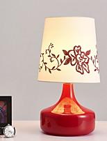abordables -Artistique / Moderne / Contemporain Décorative Lampe de Table Pour Intérieur Verre 220-240V Rouge / Violet
