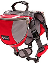cheap -Dogs / Cats / Pets Carrier & Travel Backpack Pet Carrier Portable / Camping & Hiking / Travel Solid Colored / Color Block / Patchwork