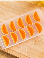 cheap -Bakeware tools Silica Gel Creative Kitchen Gadget For Ice / Fruit / Cooking Utensils Stamper & Scraper 1pc