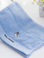 abordables -Qualité supérieure Serviette de bain / Essuie-mains, Couleur Pleine / Bande dessinée Polyester / Coton 1 pcs