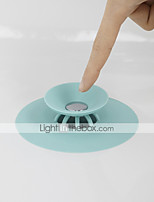 cheap -Kitchen Cleaning Supplies Silicone Sink Filter Creative Kitchen Gadget 1pc