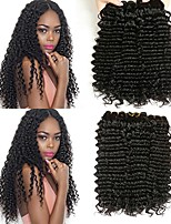 cheap -Brazilian Hair Wavy One Pack Solution 6 Bundles Human Hair Weaves Extention / Hot Sale Natural Black Human Hair Extensions All