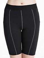 economico -Per donna Cosciali da corsa - Bianco, Nero, Rosso Gli sport Elastene Pantaloncini / Cosciali Abbigliamento sportivo Leggero, Asciugatura