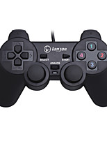 abordables -L-300S Câblé Contrôleurs de jeu Pour Polycarbonate Vibration Contrôleurs de jeu ABS 1pcs unité USB 2.0