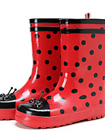 cheap -Girls' Shoes Rubber Spring & Summer Rain Boots Boots for Red