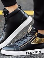 economico -Per uomo Scarpe PU (Poliuretano) Primavera Comoda Sneakers Bianco / Nero / Rosso